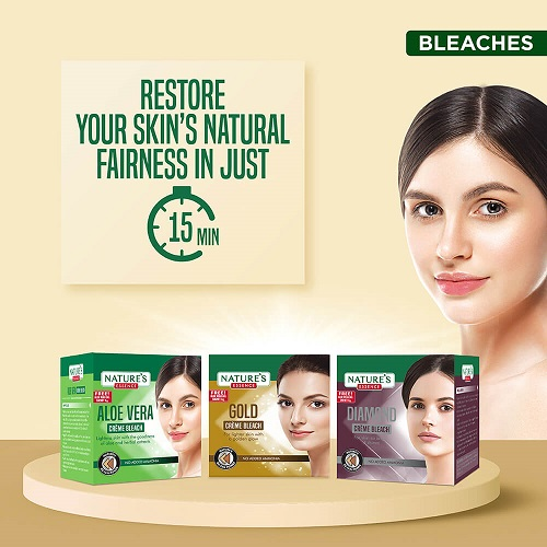 Bleaches Beauty Products