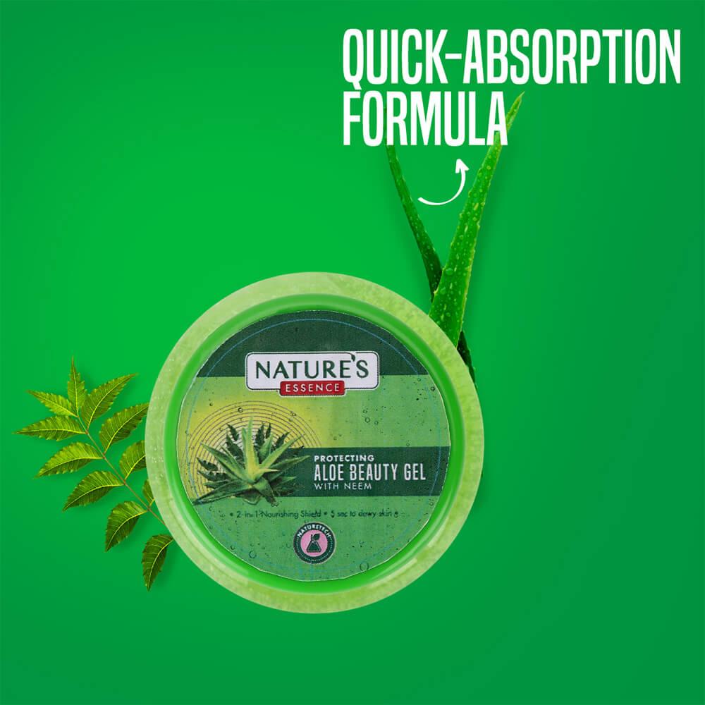 Aloe Beauty Gel with Neem, 150 ml