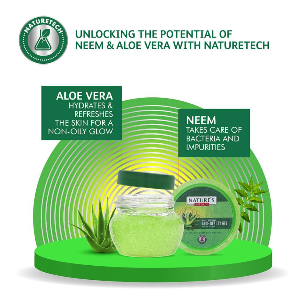 Aloe Beauty Gel with Neem, 100 ml