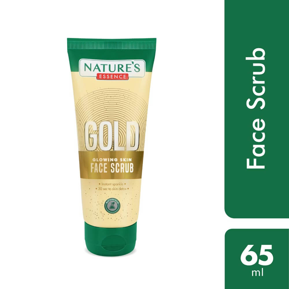 Gold Glowing skin face scrub