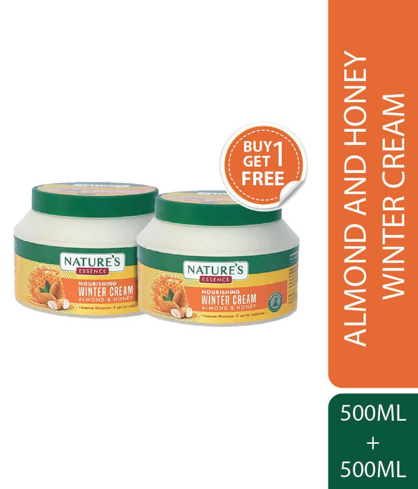 Nourishing Winter Cream Almond & Honey 500 ml Pack of 2