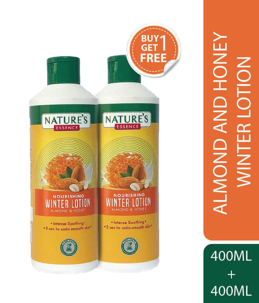 Nourishing Winter Lotion Almond & Honey 400 ml Pack of 2
