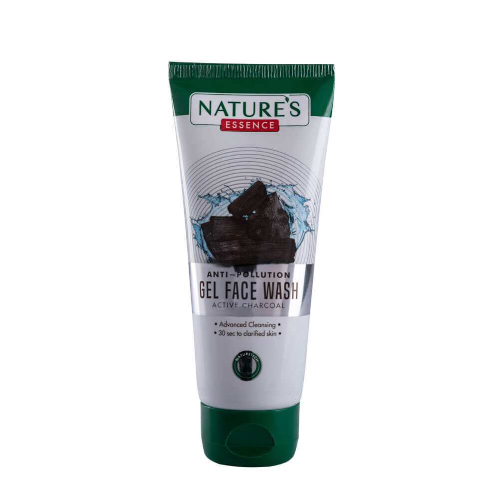 AntiPollution Gel Face Wash Active Charcoal