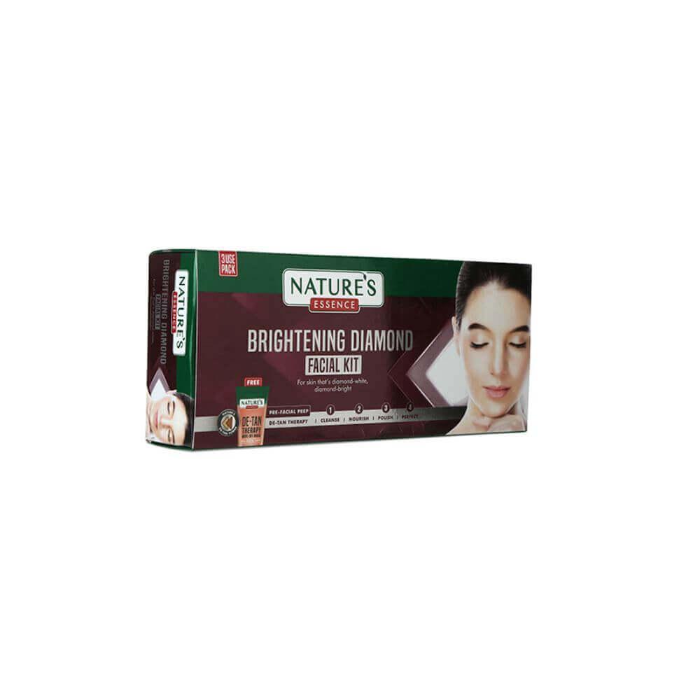 Brightening Diamond Facial Kit Single Use Pack