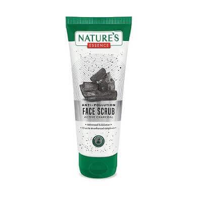 Anti Pollution Charcoal Face Scrub