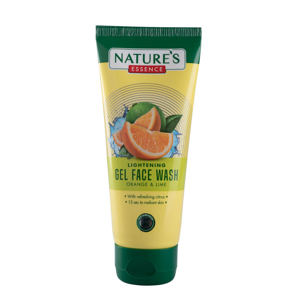 Lightening Gel Face Wash Orange & Lime