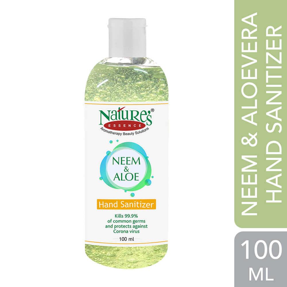 Neem and Aloe Hand Sanitizer