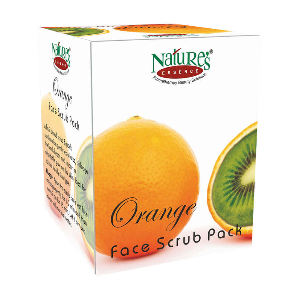 Orange Scrub Pack