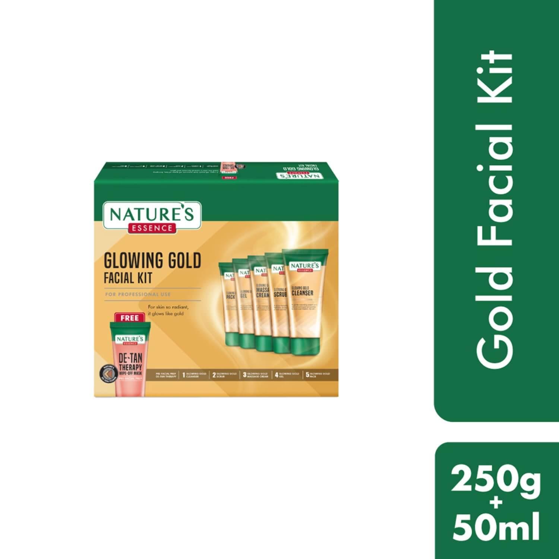 Glowing Gold Facial Kit, 250gm+50ml