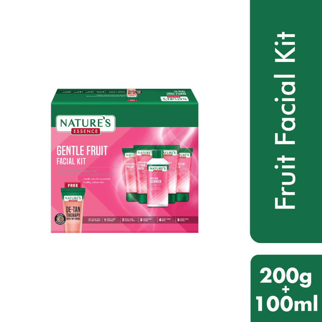 Gentle Fruit Facial Kit, 200gm + 100ml