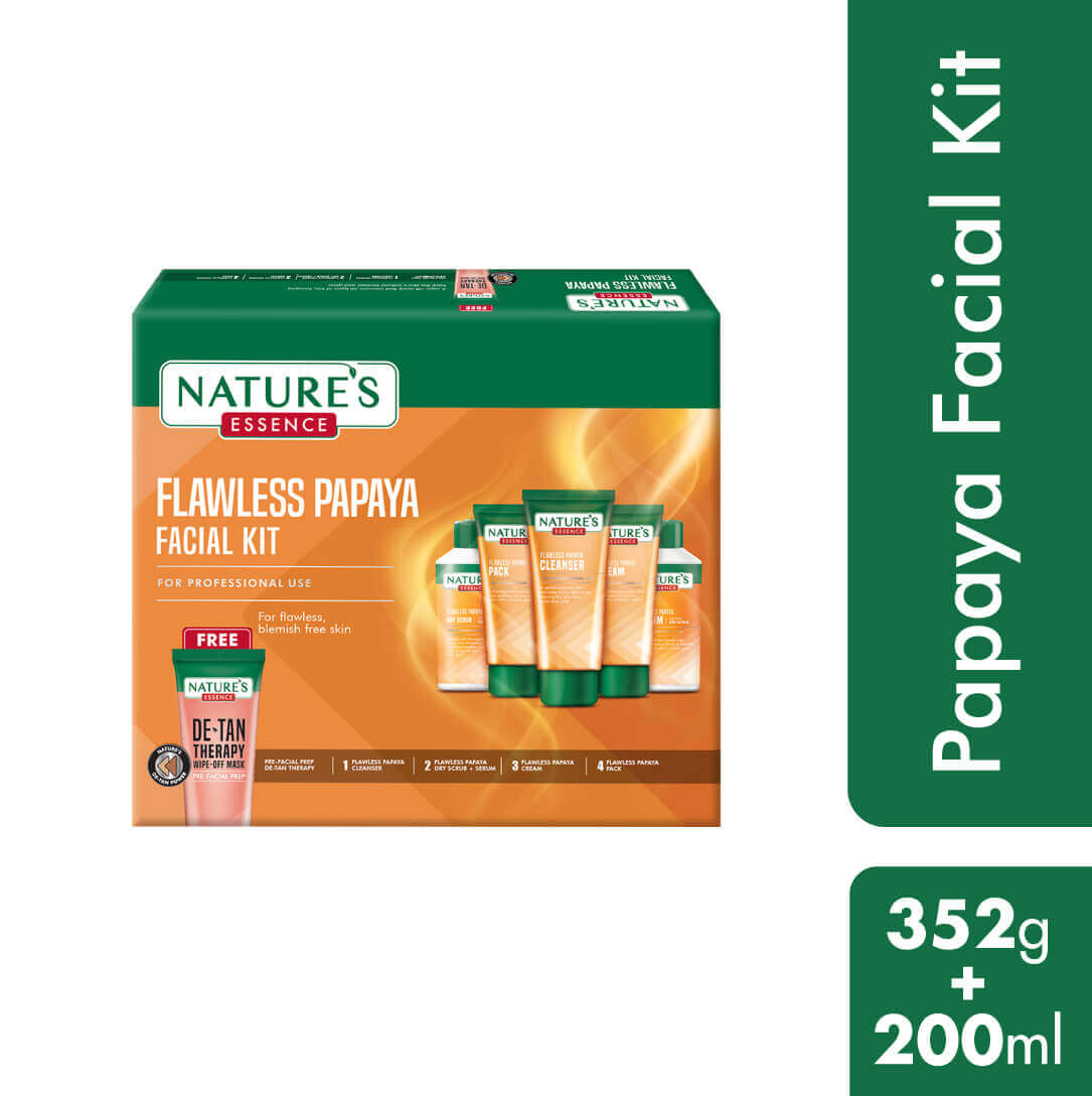 Flawless Papaya Facial Kit, 352gm + 200ml