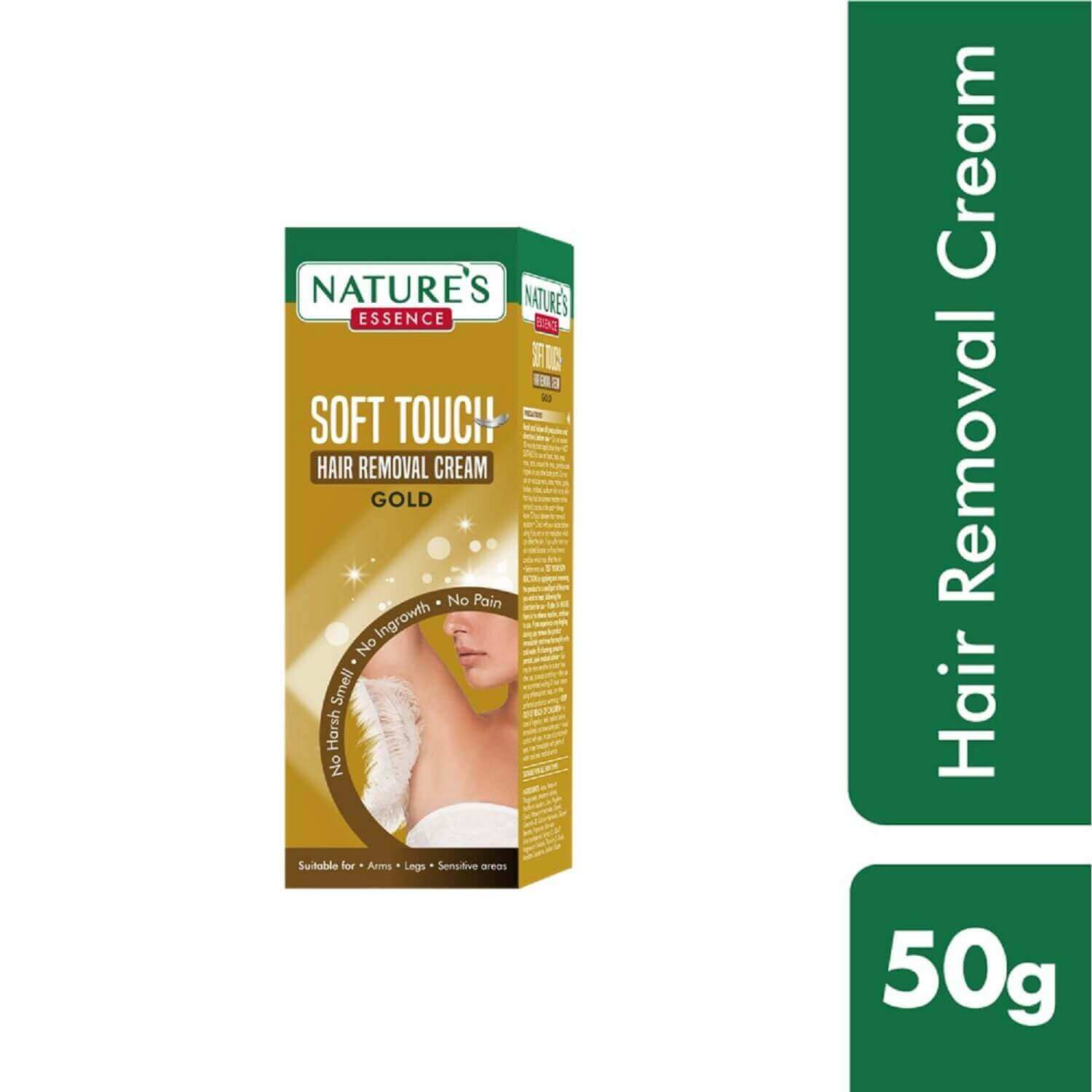 Soft Touch Hair Removal Cream  Gold, 50 gms